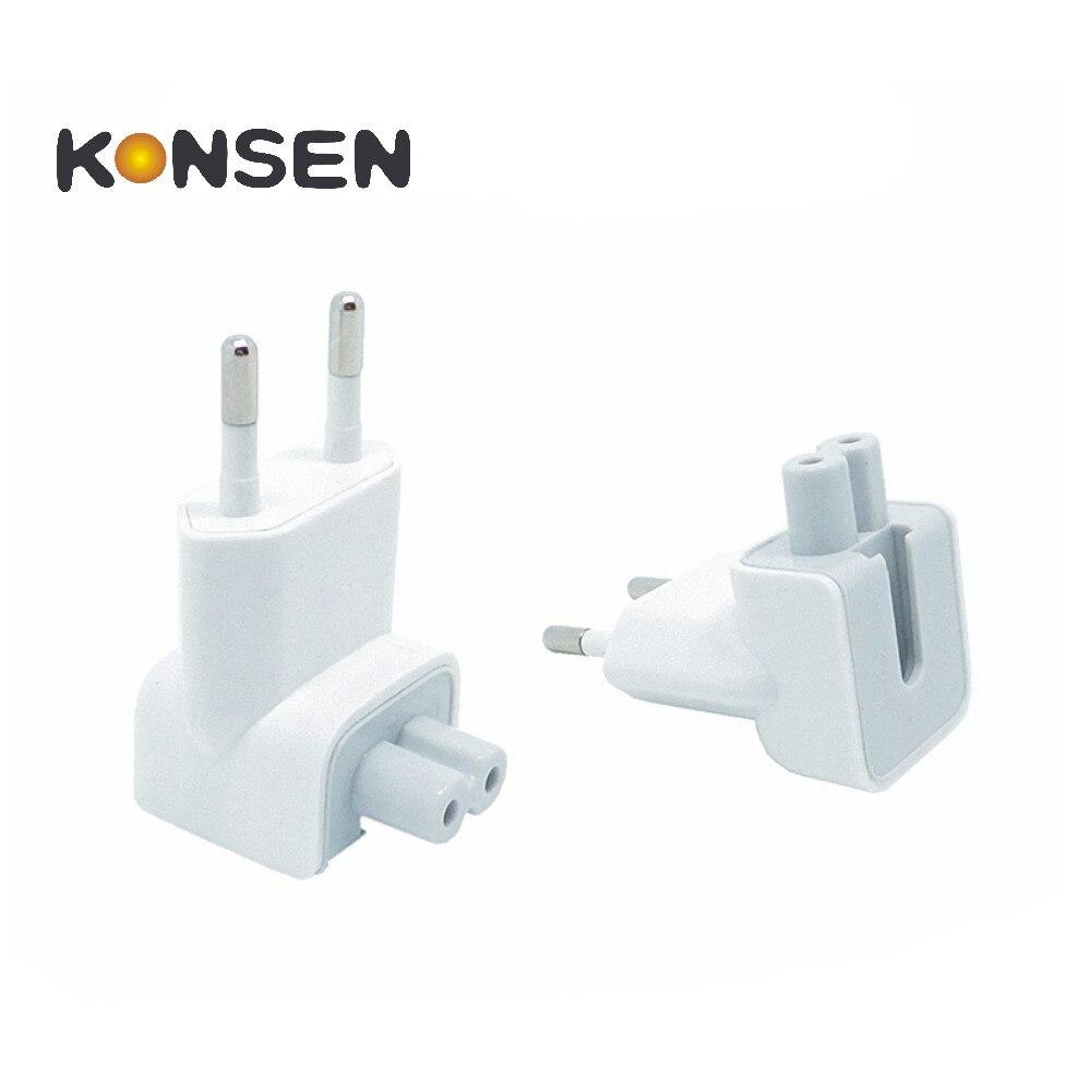 KONSMART Wall AC Detachable Electrical Euro EU Plug Duck Head for Apple iPad iPhone font b