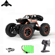 цена на RC Car 1/14 4WD Remote Control High Speed Vehicle 2.4Ghz Electric RC Toys Monster Truck Buggy Off-Road Toys Kids Suprise Gifts