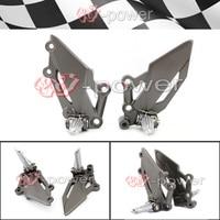For KAWASAKI VERSYS 250/300 NINJA EX250R/EX300 Z250 Z300 Motorcycle Front Left Right Footrest Foot Pedal Peg Mount Bracket