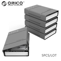 ORICO PHP35 V1 GY Simple HDD Protector Box For 3 5 HDD Case With Waterproof Function