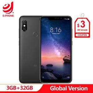 "Image 1 - Spain 1 5 Work Days Global Version Xiaomi Redmi Note 6 Pro 6pro 3GB 32GB 6.26"" Full Screen 4 Cameras Snapdragon 636 Smartphone"