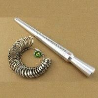 Ring Sizer Finger Gauge Stick Mandrel Tool 4 Scale Ring Measuring Stick EUR US JAPAN HK