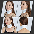 Adulto blanco Collar Cervical espondilosis Transpirable Rehabilitación médica Ajustable bastidor de soporte fijo rígido cuello postura