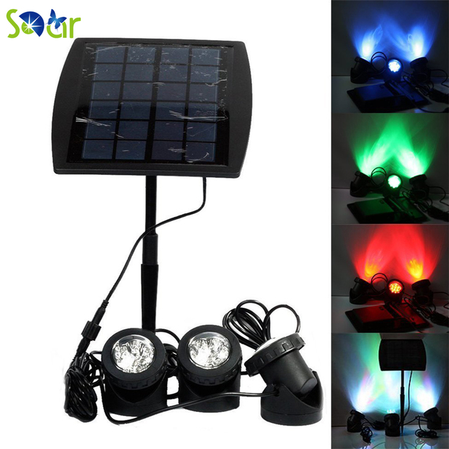18LED Weatherproof Waterproof Spotlight/LED Floodlight/Solar Garden  Spotlights Underwater Lights For Pool 3