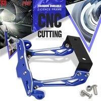 Motorcycle License Plate Bracket Licence Plate Holder Frame Number For Honda CB600F CB 600 F cb600f Hornet CBR600F CBF600SA