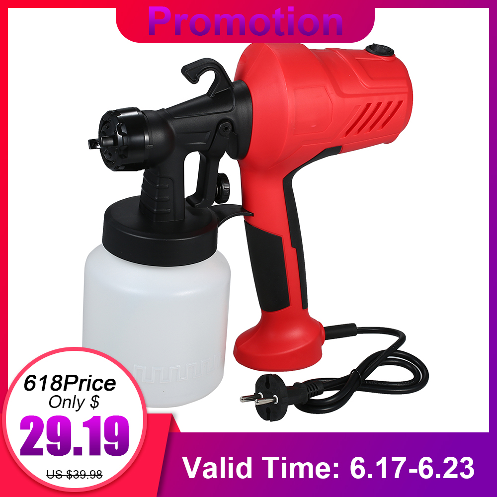230V 400W Electric Paint Sprayer Gun Airless Painting Compressor Machine Adjustable Flow Control for Cars Furniture Woodworking230V 400W Electric Paint Sprayer Gun Airless Painting Compressor Machine Adjustable Flow Control for Cars Furniture Woodworking