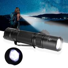 LED Outdoor Bright Flashlight Mini Portable Waterproof Camping Adventure Torch 1000LM Rechargeable