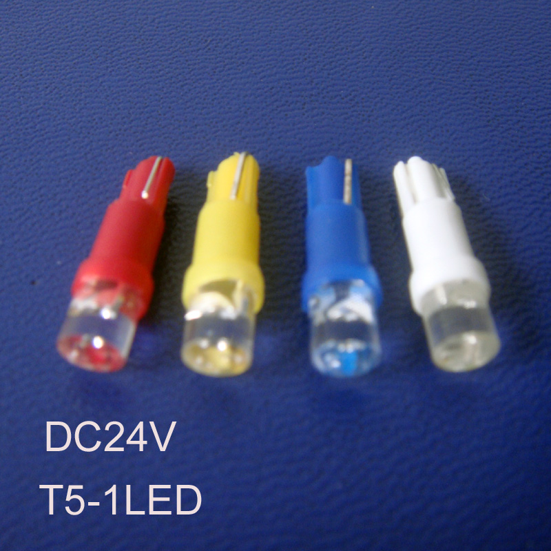 High quality 24V T5 led Pilot lights,T5 24V led Indicator lights Led Warning light T5 led Signal light free shipping 100pcs/lot