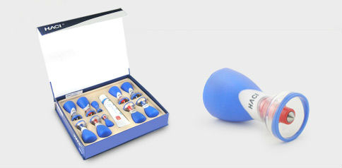 Wholesale 20 Sets Chinese cupping Deluxe Magnetic Acupressure Suction Cupping Set - 10 Cups Wuxing Zhen