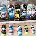 1 pacote coruja bonito Cobertura Completa velocidade Sticky Stickers Decorações Nail Art sticker decalques Manicure Ferramentas unhas acessórios Nova chegada