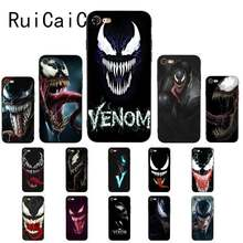 Ruicaica Marvel Venom Newest Super Hero Cute on sell funda Phone Casefor iPhone 8 7 6 6S 6Plus X XS MAX 5 5S SE XR 10 Cover(China)