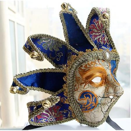 Men Half Face Venice Venetian Masquerade Mask
