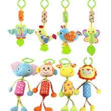 Baby Stroller Crib-Toys Hanging Giraffe Plush Bell Animal Monkey Lion 8-Style Campanula-Ring