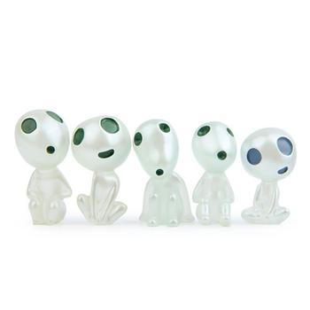 5Pcs Luminous Tree Elves Toy Cartoon Princess Figure Glow In The Dark Toys Kids Xmas Gift Light Up Novelty Toys