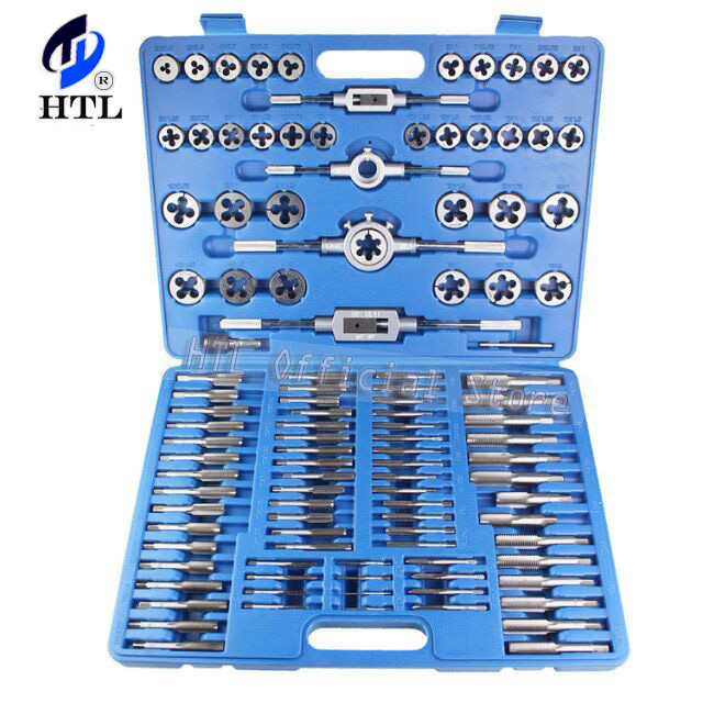 Tap And Die Set 110pc Thread Repair M2 - M18 Taper Plug