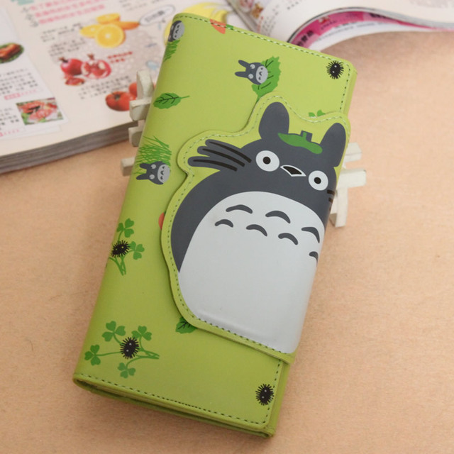 Hot selling!! New 2013 Free shipping hot sale Magnetic buckle zipper totoro cartoon coin purse children wallet clutch bags