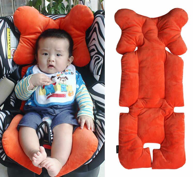 Baby Stroller Mattress Infant Baby Car Seat Cushion Portable Stroller Pad Liner Mat Baby Head Body Support Mat Pushchair Cushion