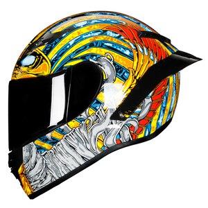 Full Face Helmet Casco Moto Ca
