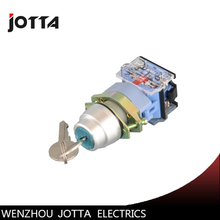 LA39-11Y/21 2 position maintained key-lock push button  switch la38 11y 22 2 position key lock momentary push button switch