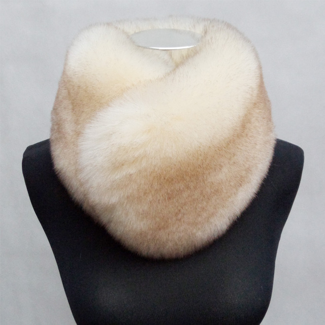Faux Fur Collar Ring Scarf | Neck Scarves