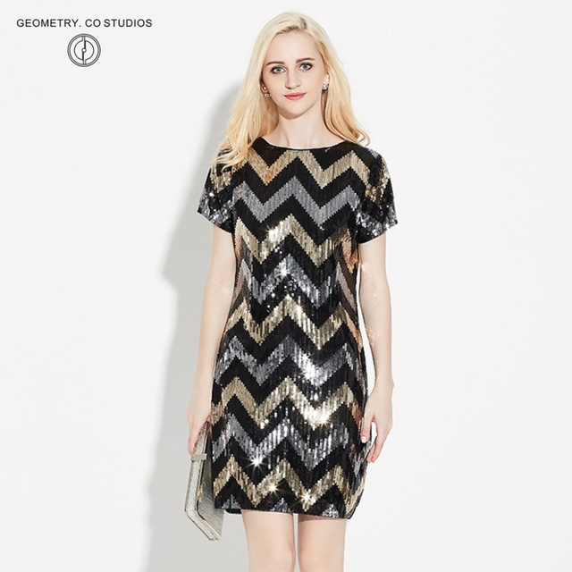 Wavy Lines in a Dresses