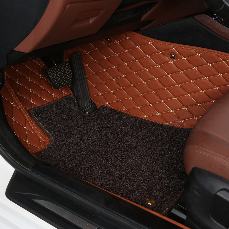 Myfmat new top car floor mat for the great wall Haval h2 h3 h5 h6 h8 h9 m4 c30/50 lifan 320 520 620 X60 Chery tiggo qq foot rugs