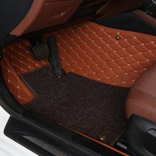 Full wire ring car floor mat for the great wall Haval h2 h3 h5 h6 h8 h9 m4 c30/50 lifan 320 520 620 X60 Chery tiggo qq foot rugs car covers for the great wall haval h2 h3 h5 h6 h8 h9 m4 c30 c50 coolbear lifan 320 520 620 x60 chery tiggo qq qq3 qq6 a1 x1 m1
