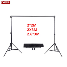 DHL TNT FREE Photography Photo studio Background Backdrops Support System Stand For Photo Video Studio + carry bag + 3 clamps