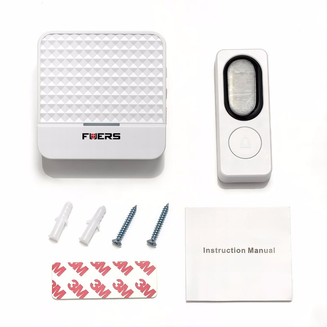 Fuers 433MHZ US EU UK Solar Cell Wireless Doorbell Waterproof Plug-in Door Bell 200m  sc 1 st  AliExpress.com : buy doorbell - pezcame.com