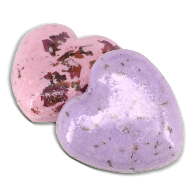 Ange Aile 1pc Heart Shape Essential Oil Bath Bombs Body Scrub Whitening Moisture Bath Fizzy SPA For Christmas Gift A539
