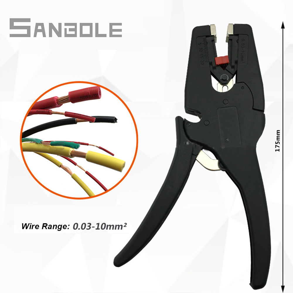 Stripping Pliers Automatic Cable Wire Stripper Cutter Multifunctional Terminal Plier Tools Cable Scissors Multitool