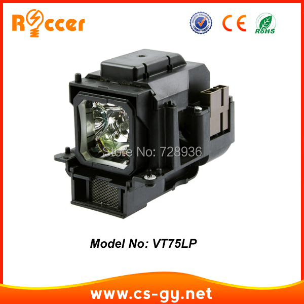 VT75LP replacement projector lamp for NEC projector LT280, LT380, VT470, VT670, VT670K, VT676, VT676E, VT676G vt75lp replacement projector lamp with housing nsh180w for nec lt280 lt380 vt470 vt670 vt676