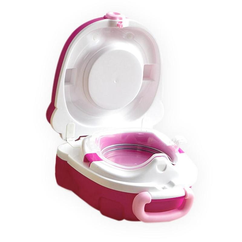 Baby Portable Car Travel Toilet Infants Outdoor Convenient Potty Seat Training Children Outside Toilet Pot Kids Squatty Potty