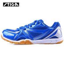 Натуральная обувь stiga для настольного тенниса; спортивная обувь; кроссовки для мужчин и женщин; удобная дышащая профессиональная спортивная обувь