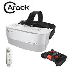 Caraok V12 все-в-одном виртуальной реальности 3D VR очки Android 4.4 2 г 16 г Поддержка Wi-Fi Bluetooth OTG TF карты + Bluetooth геймпады