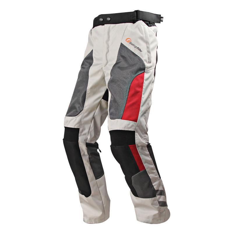 Unisex lato moto rcycle spodenki na rower Mesh moto rbike spodnie wodoodporne oddychające spodnie wyścigowe pantalon moto spodnie moto cykl