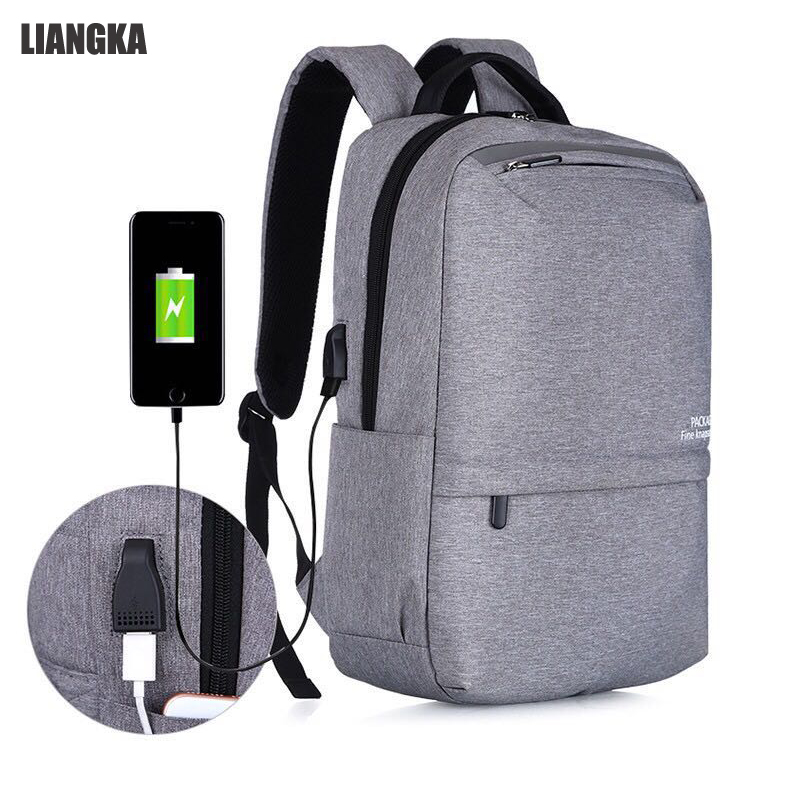 LIANGKA USB chargeur de téléphone sacs à dos pour Xiaomi ordinateur portable hommes femmes décontracté voyage Camping sac à dos cartable Mochila