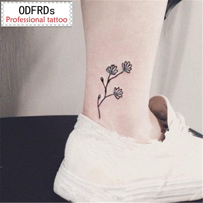 2018 Новые 500 модели водонепроницаемый временные татуировки хна поддельные флеш-тату наклейки Tatto Татуировки яркие цветы SYA027