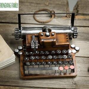 Retro Resin Metal Typewriter F