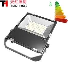 100W LED flood light AC85-265VHigh Quality Die Cast Aluminum 100W Slim Mini Ip65 led flood light manufacturer