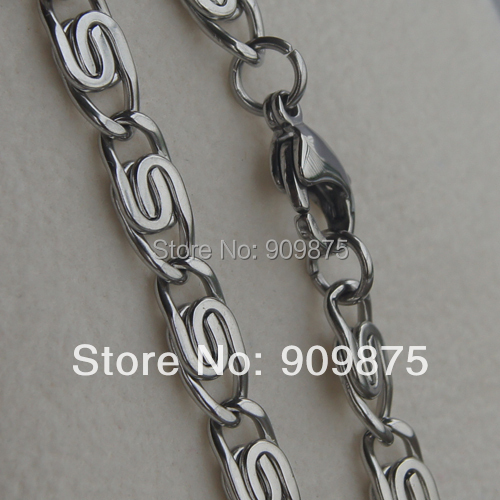 365buyeshop cool link men/boy 316L stainless steel chain necklaces  pendants men jewelry punk