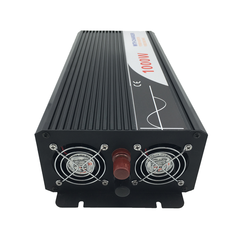 ups inverter 1000W pure sine wave inverter with charger 12V 24V 48v DC to AC 220V 230V 240v solar power inverter