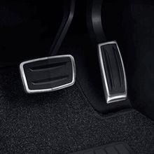 BBQ @ FUKA Combustible Gas Pastillas Pedales Del Acelerador Del Coche Styling Cubierta 2 unids XT5 Inoxidable Fit para Cadillac 2016 2017