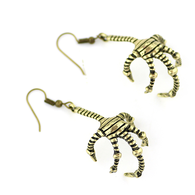 New Fashion Statement Jewelry Game of Thrones Bird Claw Earrings