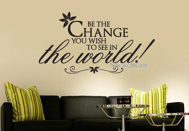 Slaapkamer Muur Quotes : Nieuwste creative muursticker quotes worden de verandering u wenst