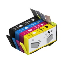 YI LE CAI 4PK 903XL compatible for HP 903 Ink Cartridge OfficeJet 6950 6960 6970 6975 E211 hp903