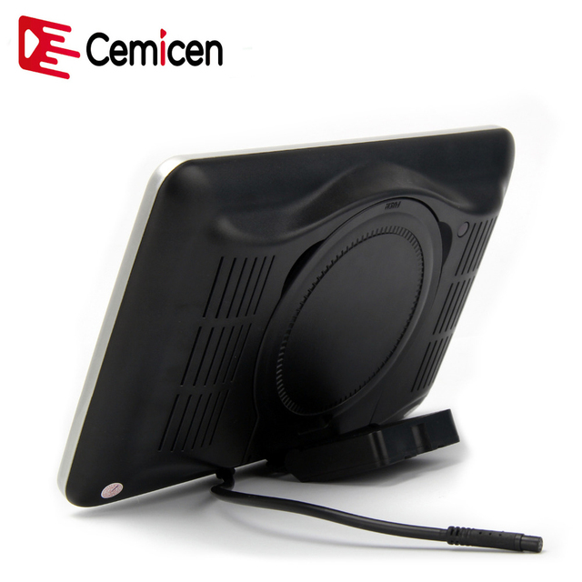 Cemicen 2 uds 10,1 pulgadas monitor para reposacabezas de coche HD pantalla LCD Digital DVD reproductor de Audio y vídeo con USB/SD/HDMI/IR/FM Transmisor/juego
