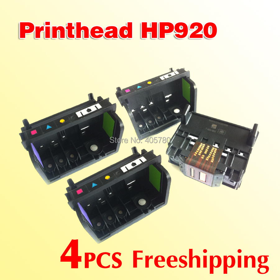 wholesale 4pcs 920 printhead compatible for HP 920 OfficeJet 6000 6500 7000A 7500A /HP920 printhead freeshipping lcl 920xl 920 xl 4 pack ink cartridge compatible for hp officejet 6000 6500 6500 wireless 6500a 7000 7500 7500a