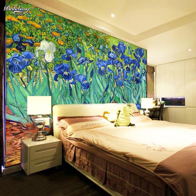 ⃝Beibehang papel de pared para cuarto Hotel pintura mural abstracto ...