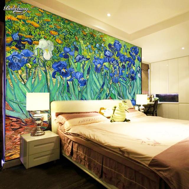 Beibehang papel de pared para cuarto Hotel pintura mural abstracto ...